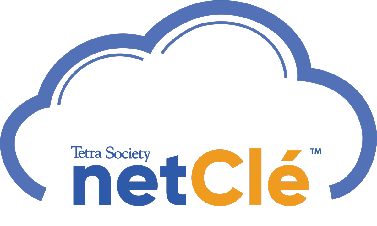 Text: Tetra Society netClé